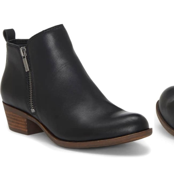 Lucky Brand Shoes - Lucky Brand Black Booties